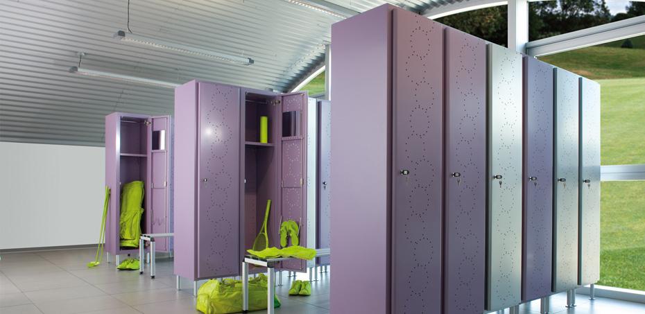 Design e qualit nello spogliatoio aziendale personalizzato for Design personalizzato