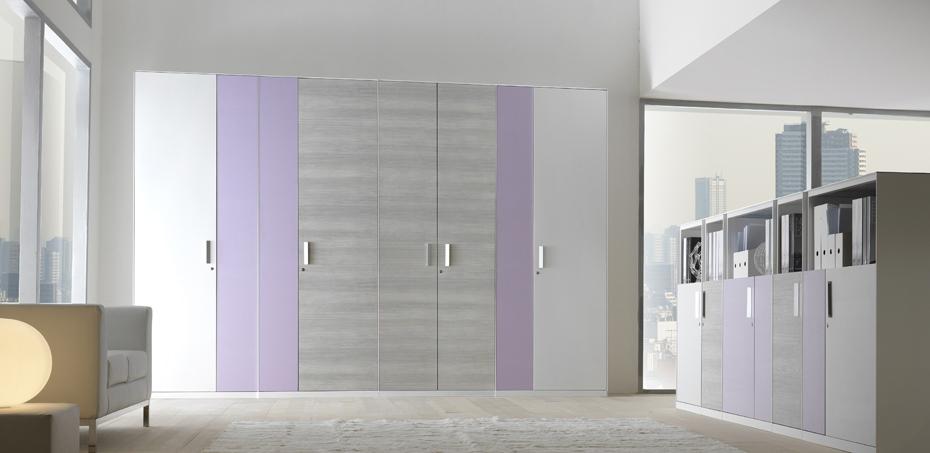 Armadi Metallici Ufficio Design Easyslim  ParetiDivisorieUfficio