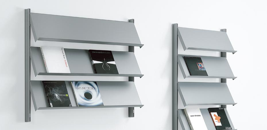 Scaffalature Metalliche Genova Via Gavette.Libreria Design Big Di Caimi Designer Marc Sadler