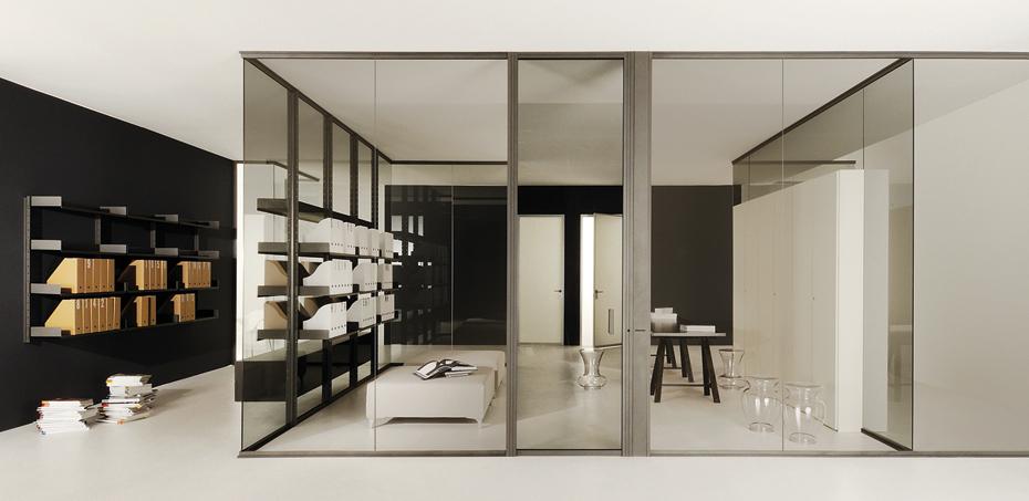 Préférence Pareti Divisorie Design in Vetro Luconi | ParetiDivisorieUfficio XE74