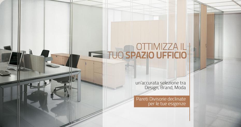 Pareti divisorie per ufficio armadi metallici tende e for Pareti per ufficio